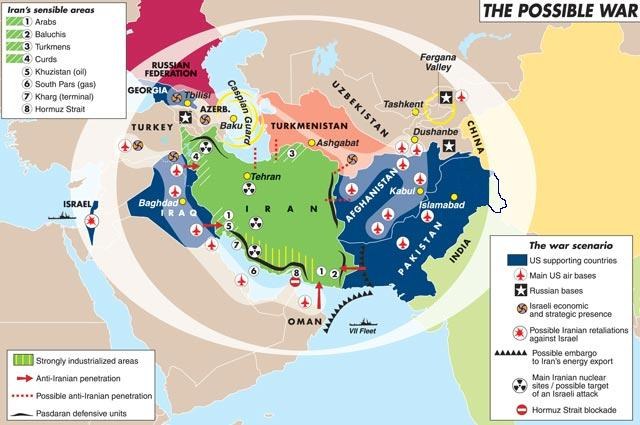 PakistanAfghanistan – Map of Iraq and Afghanistan