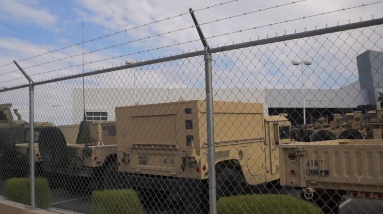 Discovery of unmarked military base in Las Vegas sparks concerns over martial law coming to America  Lasvegas-790x442