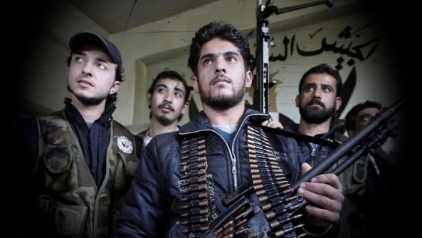 Scenes in Darkoush, Syria - 21 Apr 2013